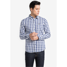COTTONOLOGY Men's Shirt Wells Blue