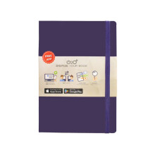 O2O Journal Dark Purple NBAFI-HC009