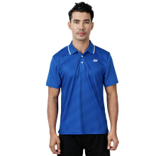 YONEX Men's Polo T-Shirt - Strong Blue