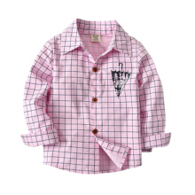 Infant Baby Boys Girls Shirt Fall Winter Formal Clothes for 1-4 Years Old,umbrella Print Plaid Gentleman Tops