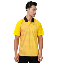 YONEX Men's Polo T-Shirt - Lemon Chrome PM-G017-933-28B-17-S