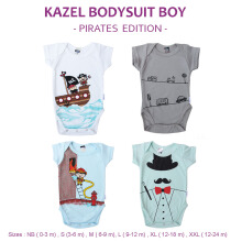 Kazel Bodysuit Boy Pirates Edition 0-24m