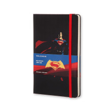 MOLESKINE Notebook Batman Vs Superman Limited Edition Large