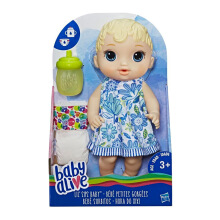 BABY ALIVE Lil Sips Baby - Blonde Sculpted Hair BYAE0385