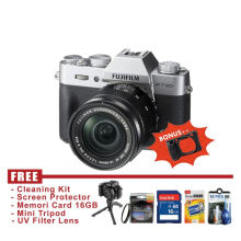 Fujifilm X-T20 Kit 16-50mm Silver - FREE Accessories