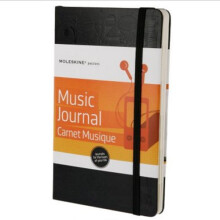 MOLESKINE Passion Journal Music PHMS3AF Notebook