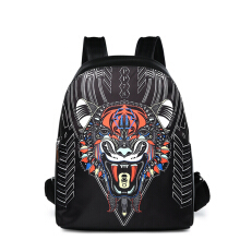 Wei's Fashion Men's Bag Business and casual backpack Luxury ipad computer laptop use travel backpack fdk0318 Black