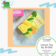 Lemom Booster Tea Asi Booster Lemon