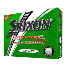SRIXON Sri16 Soft Feel 10 Golf Ball - White