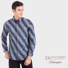 JAYASHREE BATIK Exclusive Slim Fit Long Sleeve Rangga - Blue