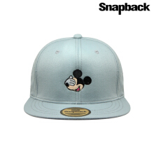 Snapback Topi Hiphop Dewasa Mickey close the eyes SBR1054_Grey
