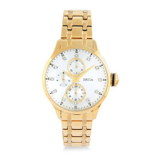 ZECA Women's Watch 3006L.S.C.G1 - Gold