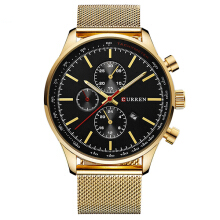CURREN 8227 Business Men Watch Luxury Sport Metal Quartz Wrist Watch