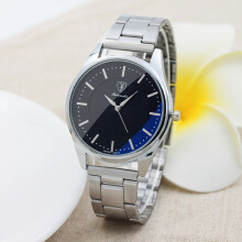 2019 New Style  Fashion Steel Belt Watch for Men and Women Quartz Watch with Box Packaging