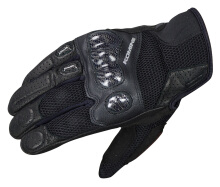KOMINE GK-197 Carbon Protect 3DM Original Sarung Tangan - Black