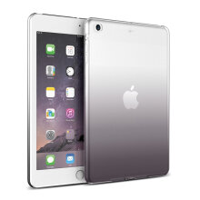 Gradient Color Transparent Soft TPU Case For iPad Air2