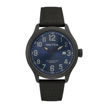 NAUTICA Watch NCC 01 Date Black [NAI11515G]