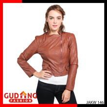 Gudang Fashion Jaket Fashion Wanita - Coklat / JAKW 146+A