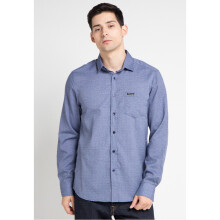 COTTONOLOGY Men's Shirt Monaco Blue