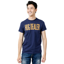 BESUTO Unisex Premium T-Shirt (Roundneck) Hug Dealer - Blue Denim