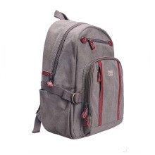 Troop London Classic Medium Canvas Backpack Brown TRP0256 Brown