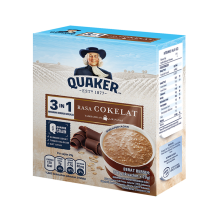 QUAKER 3 in 1 Chocolate Box 29g x 4pcs
