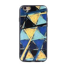 Paroparoshop - Soft Case Xiaomi Redmi 4Prime/4A Blue Yellow Case - Biru