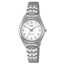 Casio LTP-1129A-7BRDF - Enticer Ladies - Silver Dial Silver Stainless Steel [LTP-1129A-7BRDF]