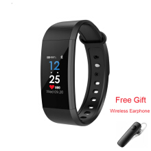 Kenny Smart Band Ultralight Bluetooth 4.0 Smart Sport Watch For xiaomi Samsung iPhone HUAWEI Black with free gift