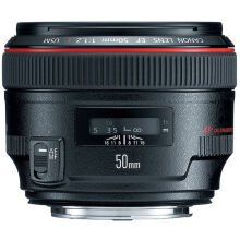 Canon EF 50mm f/1.2L USM - Black