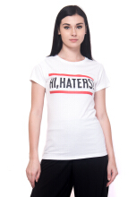 Tendencies Tshirt Hi Haters - White White M
