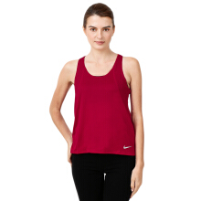 NIKE As W Nk Run Tank - Gym Red/Gym Red