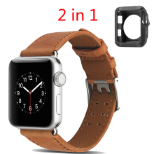 Genuine Leather Watch Strap For Apple Watch