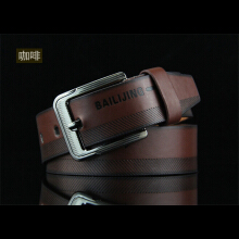 Dandali Original imported Vintage Youth Belt Antique Men's Pin Buckle Belt