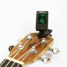 Grandia Shop - Tuner Gitar Digital Joyo Jt-01 Clip On Chromatic Guitar Bass Ukulele