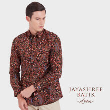 JAYASHREE BATIK Slim Fit Long Sleeve Loka - Black
