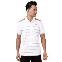 YONEX Men's Polo T-Shirt - White PM-G017-893-28T-17-S