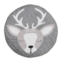 JDWonderfulHouse Child Kids Baby Kid Play Mat Game Gym Crawling Floor Blanket Rug Carpet Activity Deer