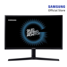 SAMSUNG LC24FG73FQEXXD 23.5 inch 1ms 144Hz FreeSync Curved QLED Gaming Monitor (HDMI & Display Port)
