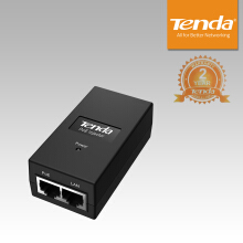 Tenda PoE15F 10/100Mbps PoE Injector - Black
