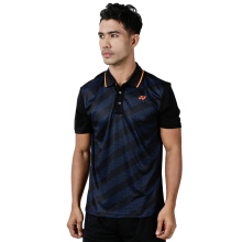 YONEX Men's Polo T-Shirt - Black