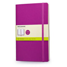 MOLESKINE Notebook Plain Soft Cover L QP618H4 - O.Purple