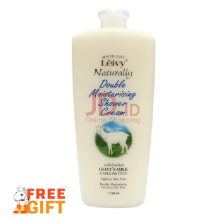LEIVY Goat's Milk Shower Cream 1150ml (Pump) - FREE LEIVY Body Foam 250ml