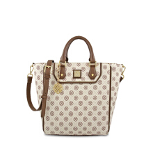 Les Catino Monogram Satchel Bag