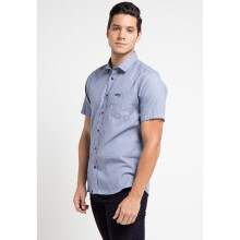 COTTONOLOGY Men's Shirt Kingston Blue