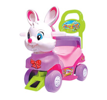 ALLUNID Ride On Bunny Characters BB588 - Pink