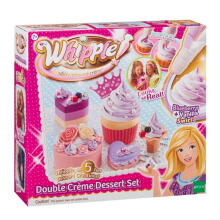 WHIPPLE Double Creme Dessert Set Bluberry Vanilla