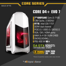DIGITAL ALLIANCE Core D4+ EVO 7 without HDD - White