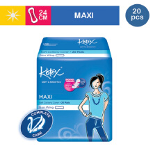 KOTEX Soft & Smooth Maxi Plus Non Wing - 20 S
