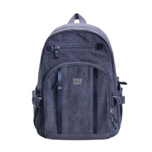 Troop London Classic Medium Canvas Backpack TRP0256 Black